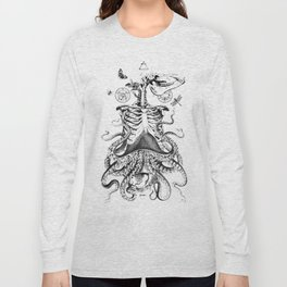 Engraving - Chimera_01 Long Sleeve T-shirt