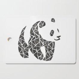 Geometric panda Cutting Board