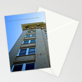 Sky is the Limit Stationery Cards