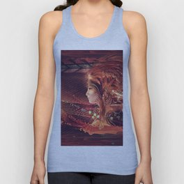 Shadow of a Thousand Lives - Visionary - Manafold Art Unisex Tank Top