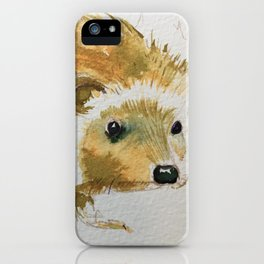 Hello Hedgie iPhone Case