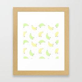 Plátano de Canarias Framed Art Print