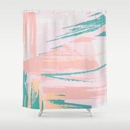 Pastel art Shower Curtain
