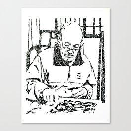 L'Artiste Canvas Print