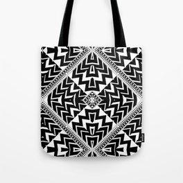 Black and White | Leyana Tribal 1 Tote Bag