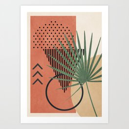 Nature Geometry II Art Print