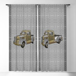 Dad's Old Truck Blackout Curtain