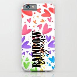 Rainbow Brigade iPhone Case