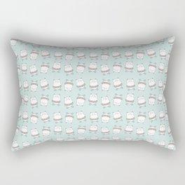 Summer fun kitty Rectangular Pillow