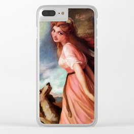 Lady Hamilton Clear iPhone Case
