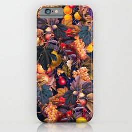 Vintage Fruit Pattern VI iPhone Case
