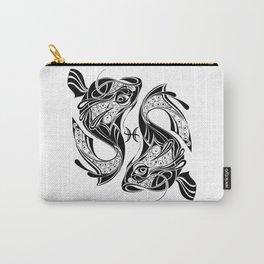 Pisces Zodiac Symbol Carry-All Pouch