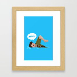 Marco Polo!  Framed Art Print
