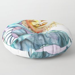 Eclipse Dragon Sun Eater Floor Pillow