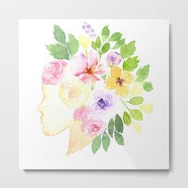 Blossom Mind Metal Print
