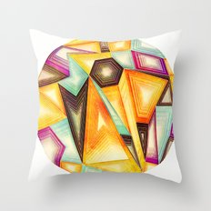 LOO_sing Perspective Throw Pillow