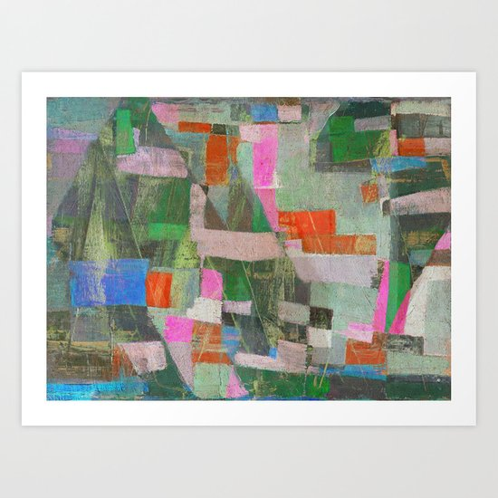 Una Mattina al Porticciolo Art Print