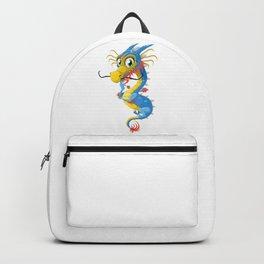 Cartoon Dragon Backpack