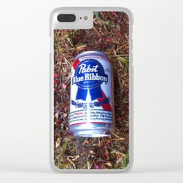 PBR Petals Clear iPhone Case