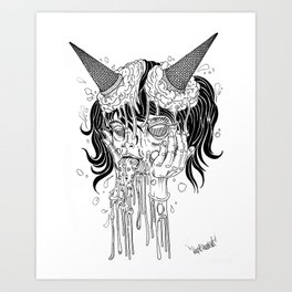 SLURP Art Print