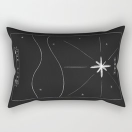 The Star Tarot Card Rectangular Pillow
