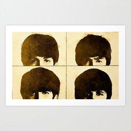 Los cuatro Art Print