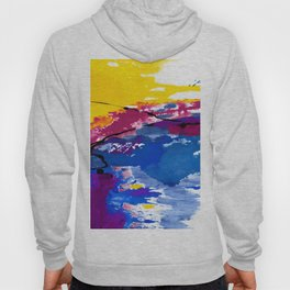 Color Song No. C7k by Kathy Morton Stanion Hoody