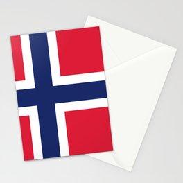 Norway flag emblem Stationery Cards