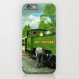 Devils Bridge Steam iPhone Case