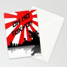 Godzilla - Oh No Tokyo Stationery Cards