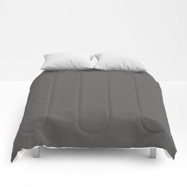 Pantone Pewter Multi Square Pattern Comforters