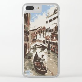 Venice Italy Clear iPhone Case