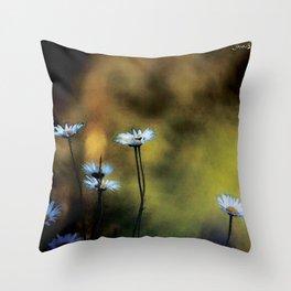 Fleurs des champs colors fashion Jacob's Paris Throw Pillow