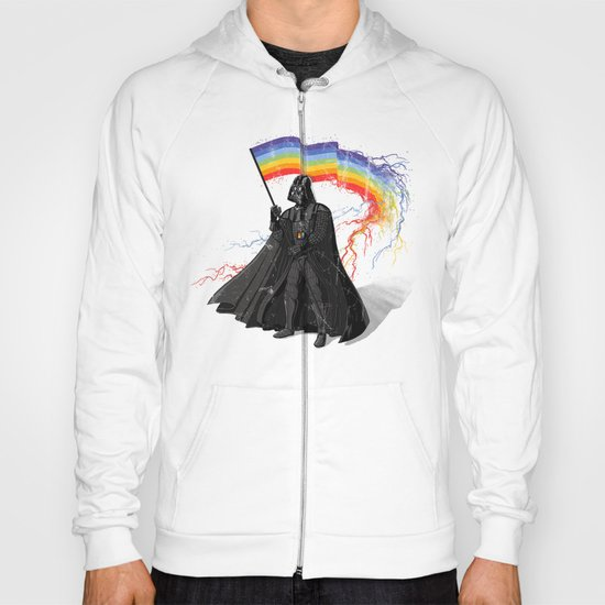 The Rainbow Side of the Force Hoody