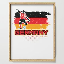Football Worldcup Germany German Soccer Team Sports Footballer Rugby Gift Serving Tray
