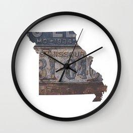 Vintage Missouri Wall Clock