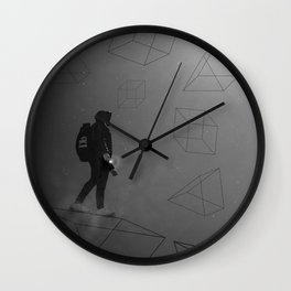 Impossible figures Wall Clock