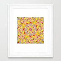 psychedelic Framed Art Prints featuring Psychedelic by Sandra Arduini