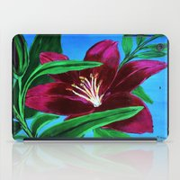 lily iPad Cases featuring Lily by maggs326