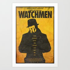 You Don't Seem to Understand - Watchmen Poster Art Print