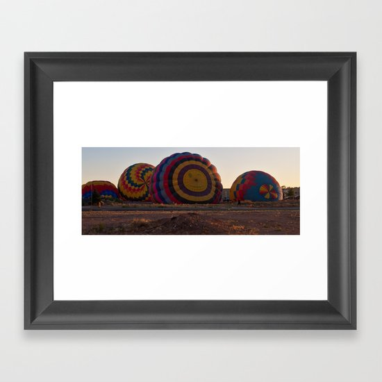 On the Rise Framed Art Print