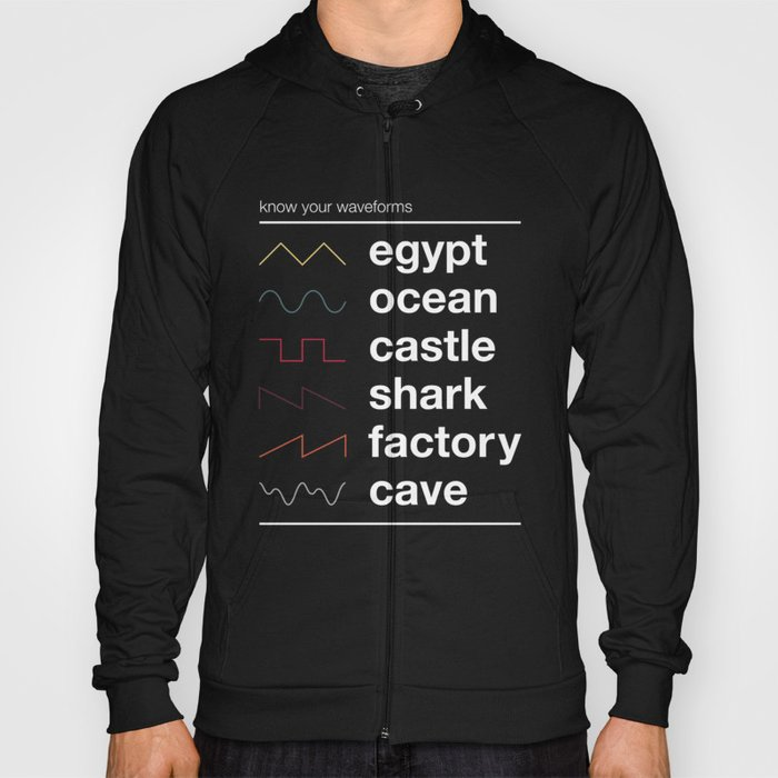 Know your Waveforms Hoody