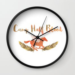 camp half blood v2 Wall Clock