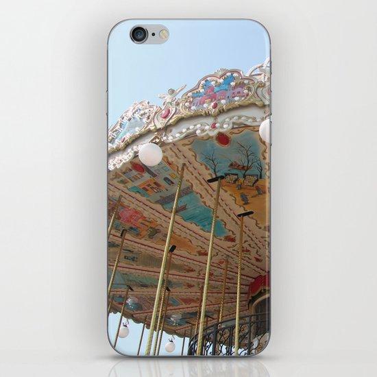 paris carousel iPhone & iPod Skin