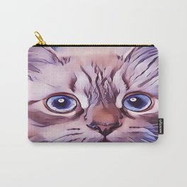 Birman The Blue Eyed Cat Carry-All Pouch