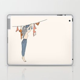Girl Next Door Laptop & iPad Skin