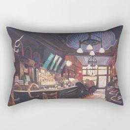 My Deer Pub - Typical Bar Scene In Ireland Scotland or England Rectangular Pillow