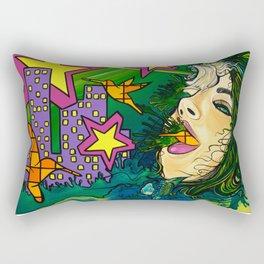 """Hear Me"" Rectangular Pillow"