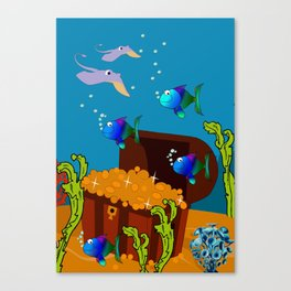 Treasure Chest Canvas Print