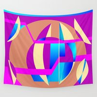 celestial Wall Tapestries featuring Celestial by MZ Designs